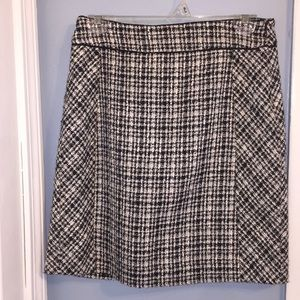 White House Black Market Tweed Skirt